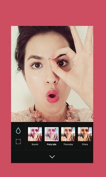 Sweet Selfie B612 Camera poster