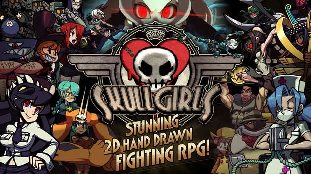 LINE Skullgirls poster