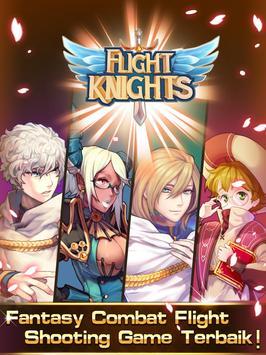 LINE Flight Knights poster