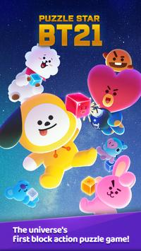 PUZZLE STAR BT21 poster