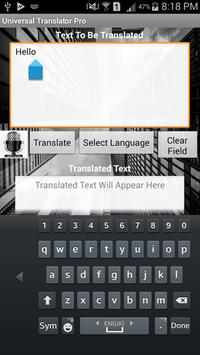 Universal Translator Pro screenshot 8