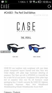 CASE Sunglasses poster
