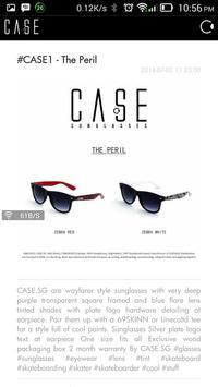 CASE Sunglasses screenshot 1