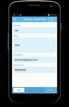 CV Maker apk screenshot