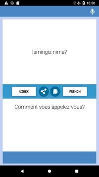 O'zbek  - Frantsuzcha Tarjimon screenshot 3