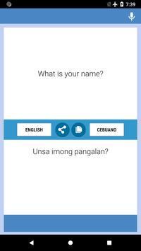 Iningles Nga Cebuano poster