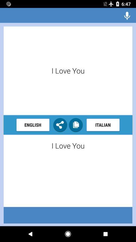 Dizionario inglese-italiano, italiano-inglese 2019 for android.