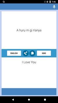 Igbo-Igbo Translator screenshot 4