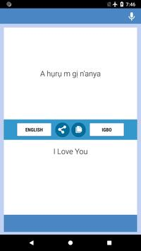 Igbo-Igbo Translator screenshot 1