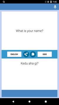 Igbo-Igbo Translator screenshot 3