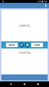 English-Slovak Translator screenshot 1
