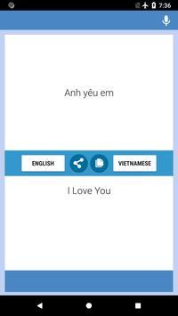English-Vietnamese Translator screenshot 1