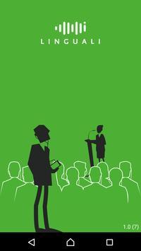 Linguali Event - Participant poster