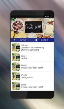 Top Health Benefits of Calcium poster