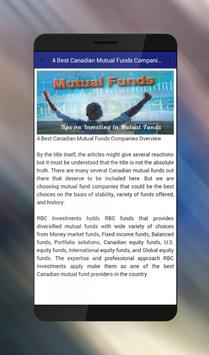 Tips on Investing in Mutual Funds apk screenshot