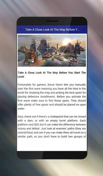 Tips Of Naval Storm TD screenshot 4