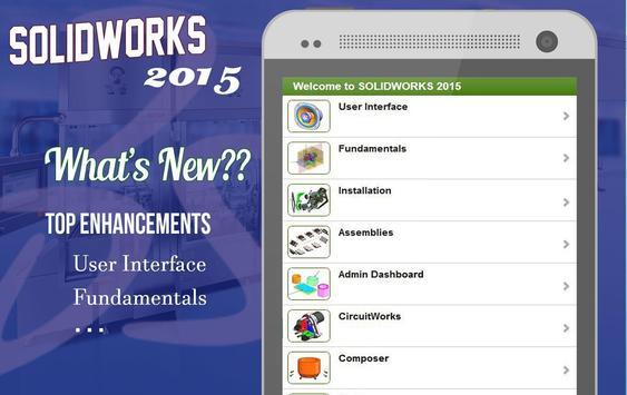 Learn Solidworks 2015 apk screenshot