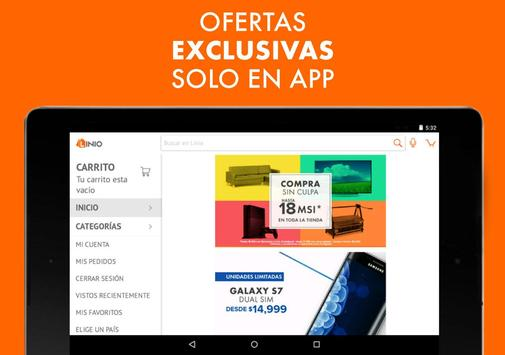 Linio - Comprar en línea apk screenshot