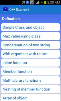 C++ Examples for Android - APK Download