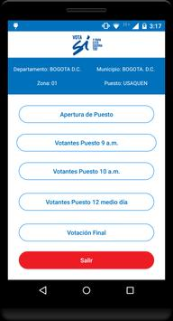 Vota Sí screenshot 2