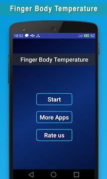 Finger Print Body Temprature Prank poster