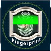 Real Fingerprint Lock Screen Prank icon
