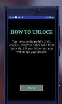 Real Fingerprint Lock Screen Prank screenshot 3