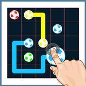 link color puzzle icon