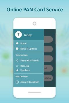 Online PAN Card Service screenshot 1