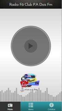 Radio Fã Club P.A Dois FM screenshot 1