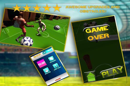 Soccer Rush: 3D poster