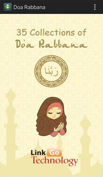 Rabbana Doa for Mobile poster