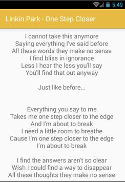 Linkin Park Lyrics All Song for Android - APK Download
