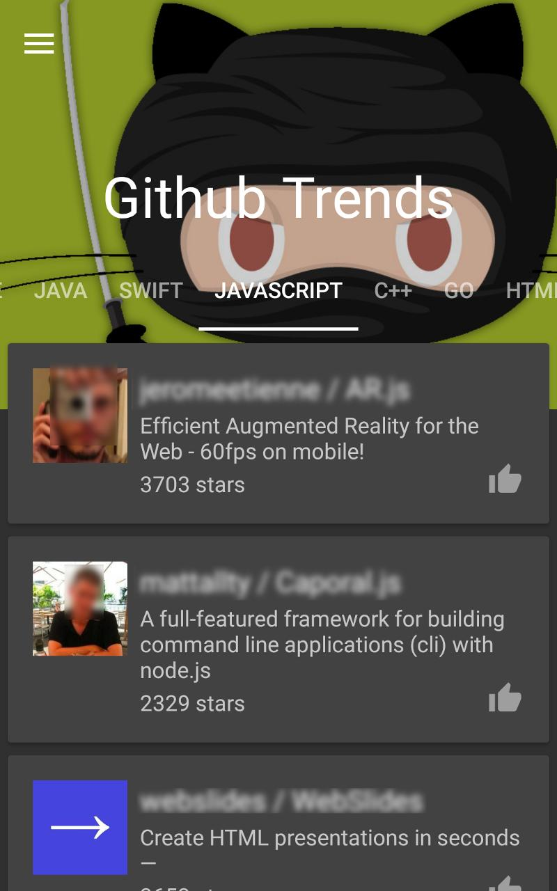 Beyond Greate Works: Github Trends for Android - APK Download