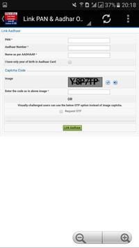 Link PAN Card & Aadhar screenshot 1