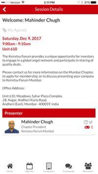 Keiretsu Forum Mumbai screenshot 2