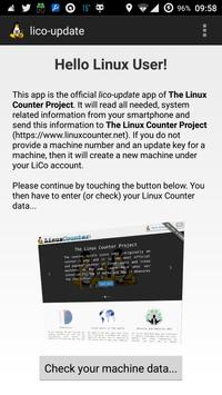 The Linux Counter Project screenshot 1