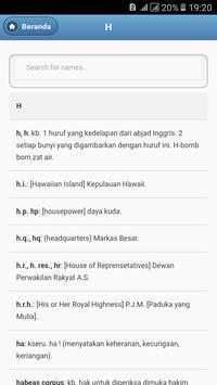 Kamus Bahasa Inggris - Indonesia Lengkap screenshot 1