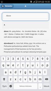 Kamus Bahasa Inggris - Indonesia Lengkap screenshot 2