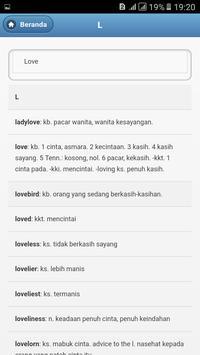 Kamus Bahasa Inggris - Indonesia Lengkap screenshot 4