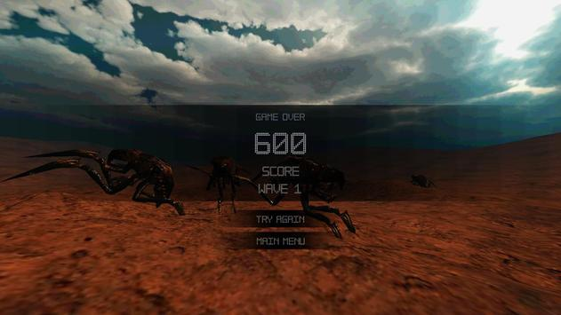Mars Defense apk screenshot