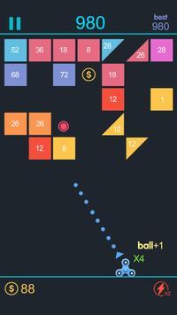 Fidget Spinner Break Bricks poster