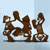 القرود الراقصة icon