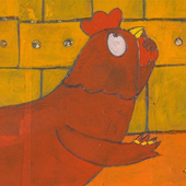 The little red hen icon