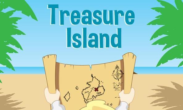 The treasure island poster