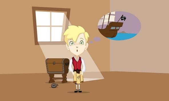 The treasure island apk screenshot