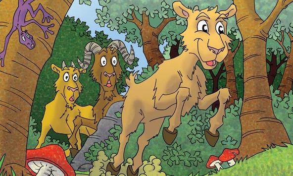 The Three Billy Goats Gruff apk screenshot