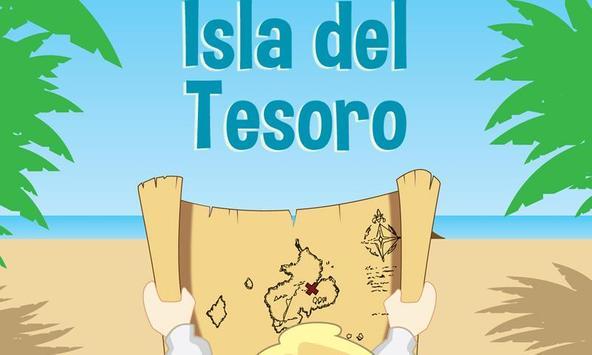 La isla del tesoro poster
