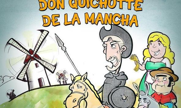 Don Quichotte de la Mancha poster