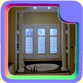 Bathroom Window Blinds icon